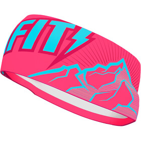 Dynafit Graphic Performance Hoofdband, fluo pink